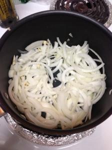 onions and garlic, check