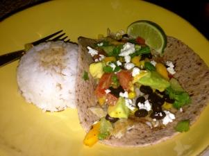 Daniel's fish tacos