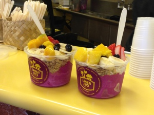 Dragon Fruit bowls. No sharing allowed.