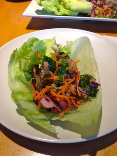 larb lettuce wraps
