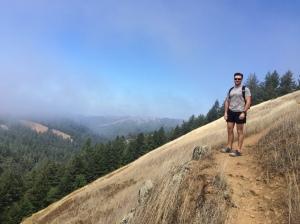 Daniel on High Marsh Trail